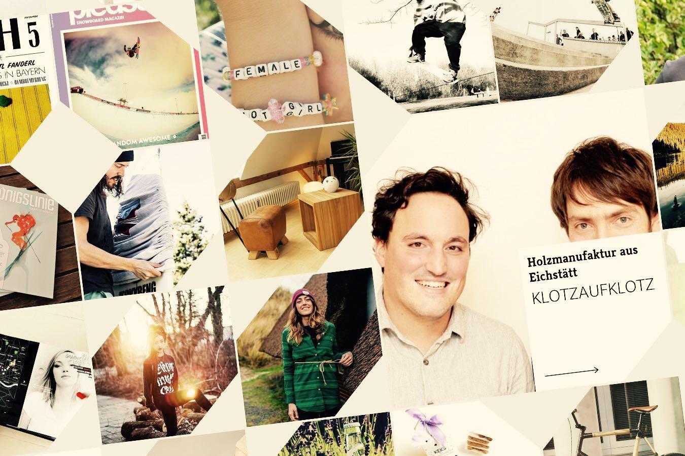 Neue Adresse, überarbeitete Startseite und Teil der Bavarian Makers