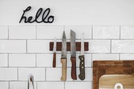 Freie Wildbahn: unsere Messerleiste