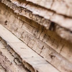 Das verwendete Holz