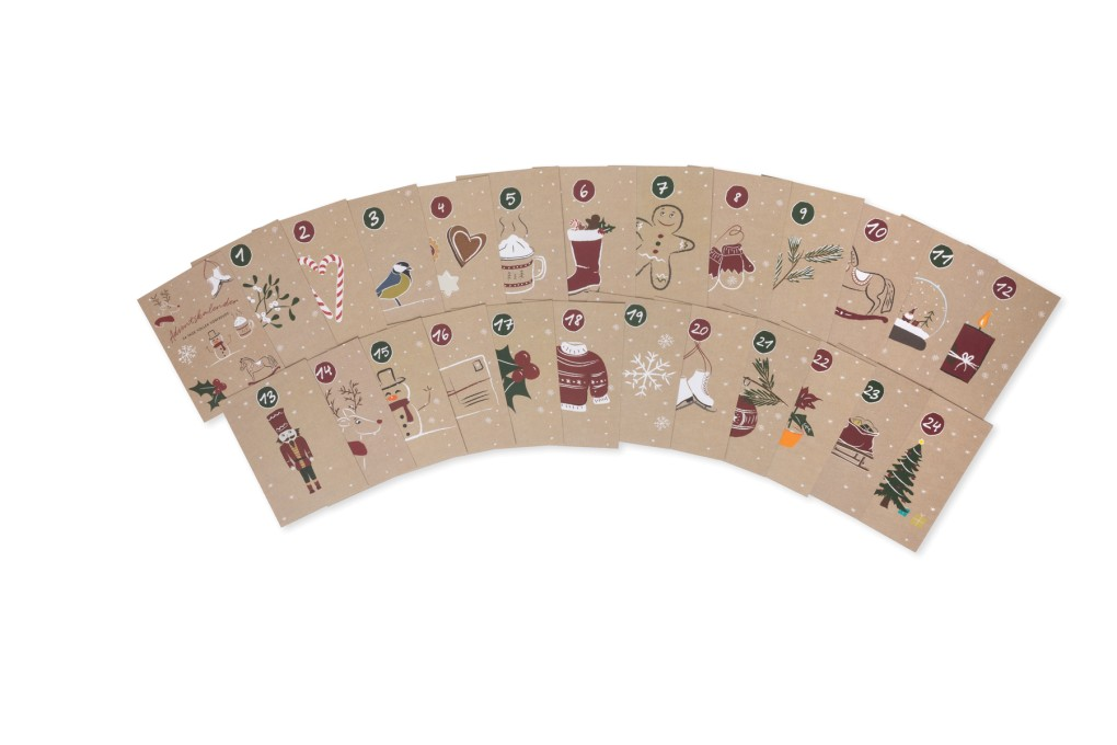 Kalenderkarten Adventskalender