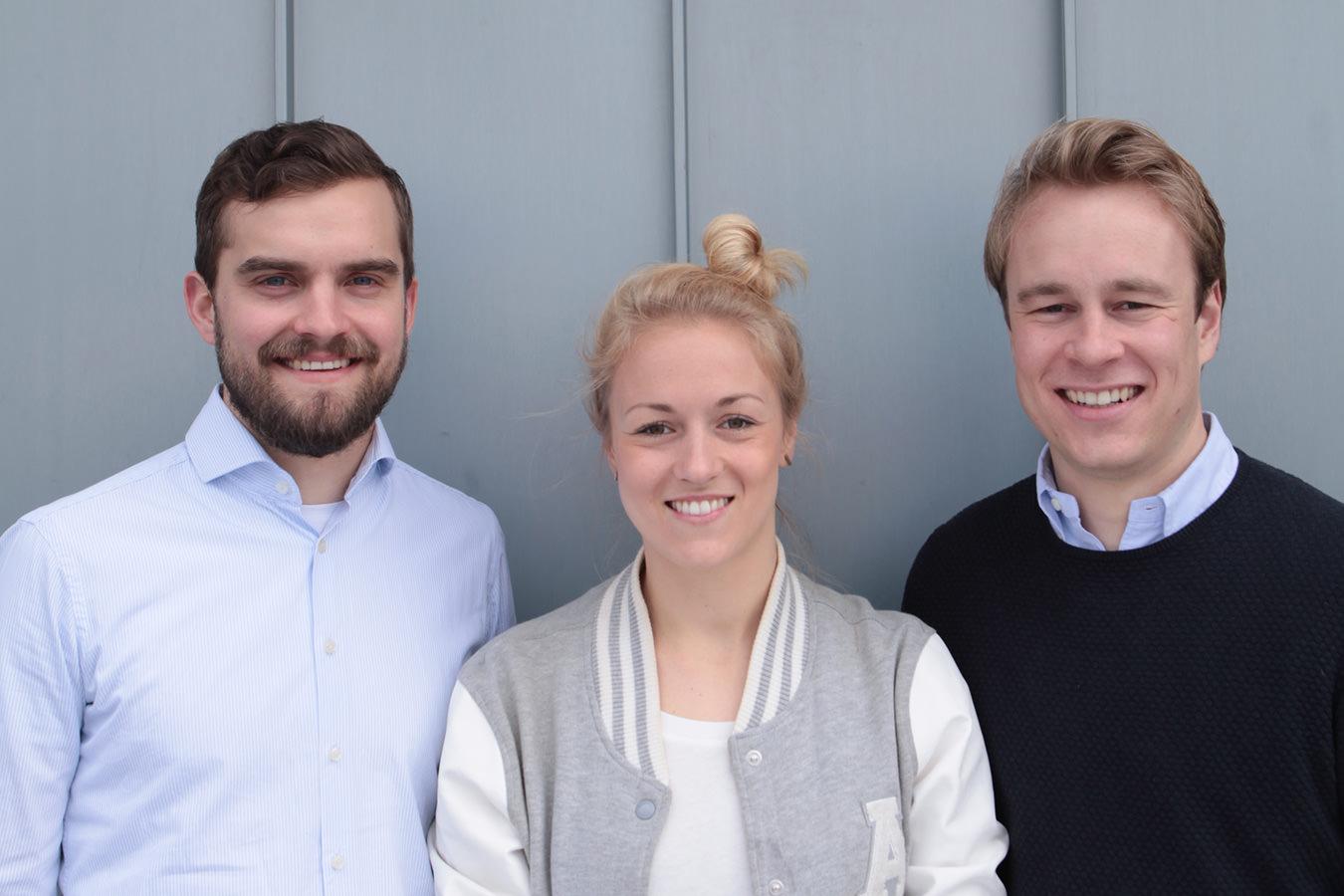 molinA Team: Sophie, Johannes und Wolfgang