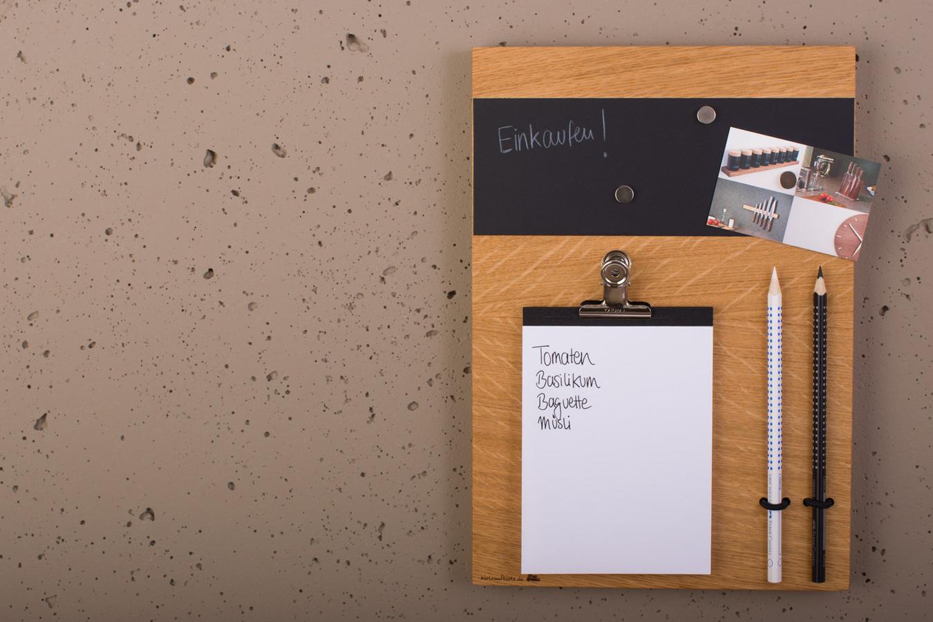 pinnwand klotzaufklotz exzellente holzprodukte. Black Bedroom Furniture Sets. Home Design Ideas