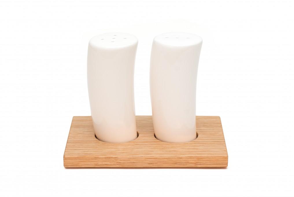 Salz- und Pfefferstreuer Eiche, klein