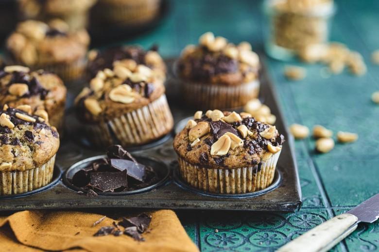 Madame-Dessert-Erdnuss-Bananenmuffins-mit-Schoko-8424