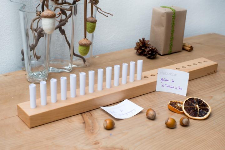Unsere Adventskalender Ideen aus Holz
