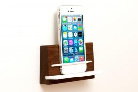 Wandhalterung iPhone Nussbaum