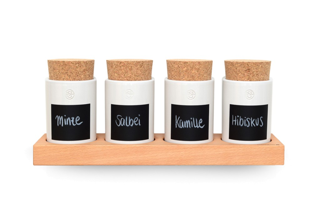 keramikdosen f r gew rze klotzaufklotz exzellente holzprodukte. Black Bedroom Furniture Sets. Home Design Ideas