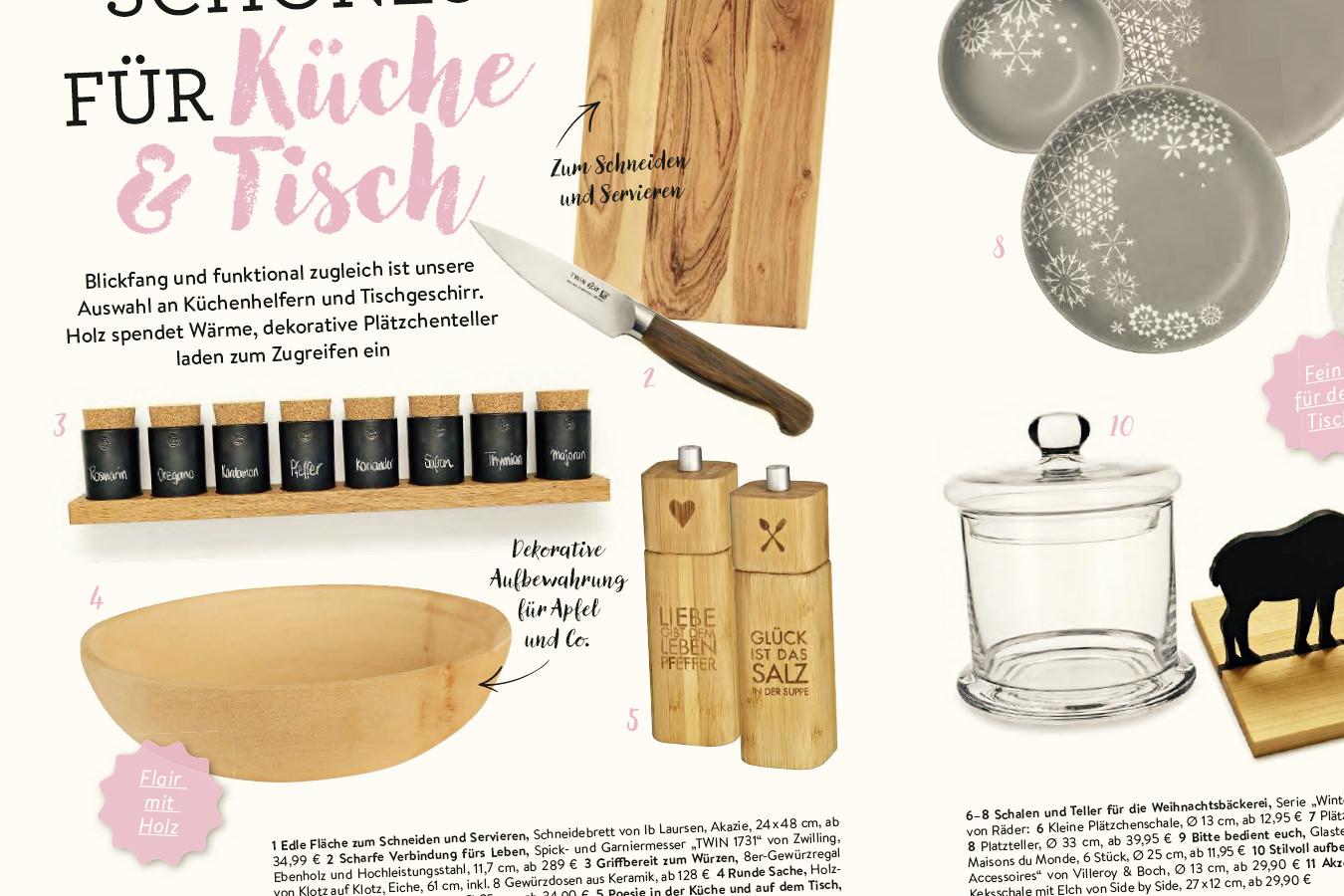 Rezepte Magazin magazin rezepte mit herz klotzaufklotz exzellente holzprodukte