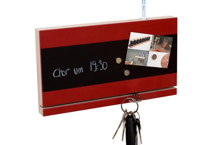 Schlüsselbrett Rot