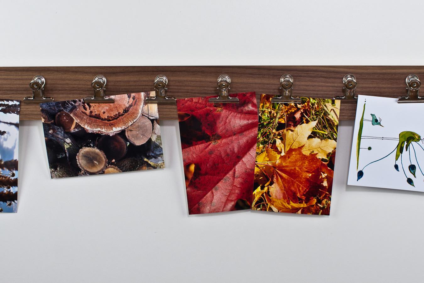 Fotoleisten in Holzoptik: Deine eigene kleine Foto-Ausstellung