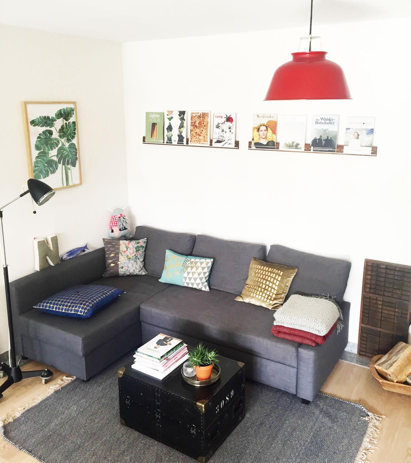Zeitschriftenhalter Wohnzimmer