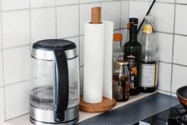 Freie Wildbahn: Küchenleiste & Küchenrollenhalter