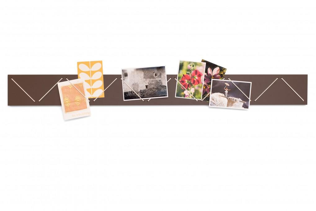 braune bilderleiste klotzaufklotz exzellente holzprodukte. Black Bedroom Furniture Sets. Home Design Ideas