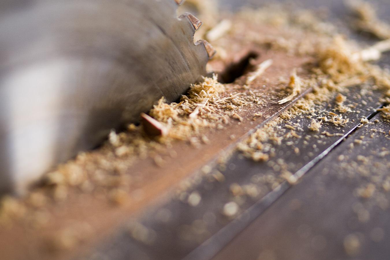 Zuschnitt Holz