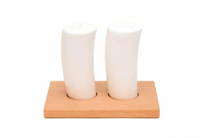 Salz- und Pfefferstreuer Buche, klein