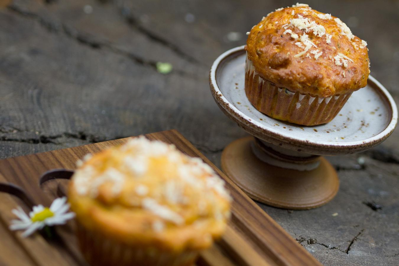 Brot & Co.: gemüsige Muffins