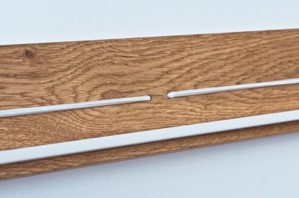 zeitschriftenhalter mit vier depots klotzaufklotz. Black Bedroom Furniture Sets. Home Design Ideas