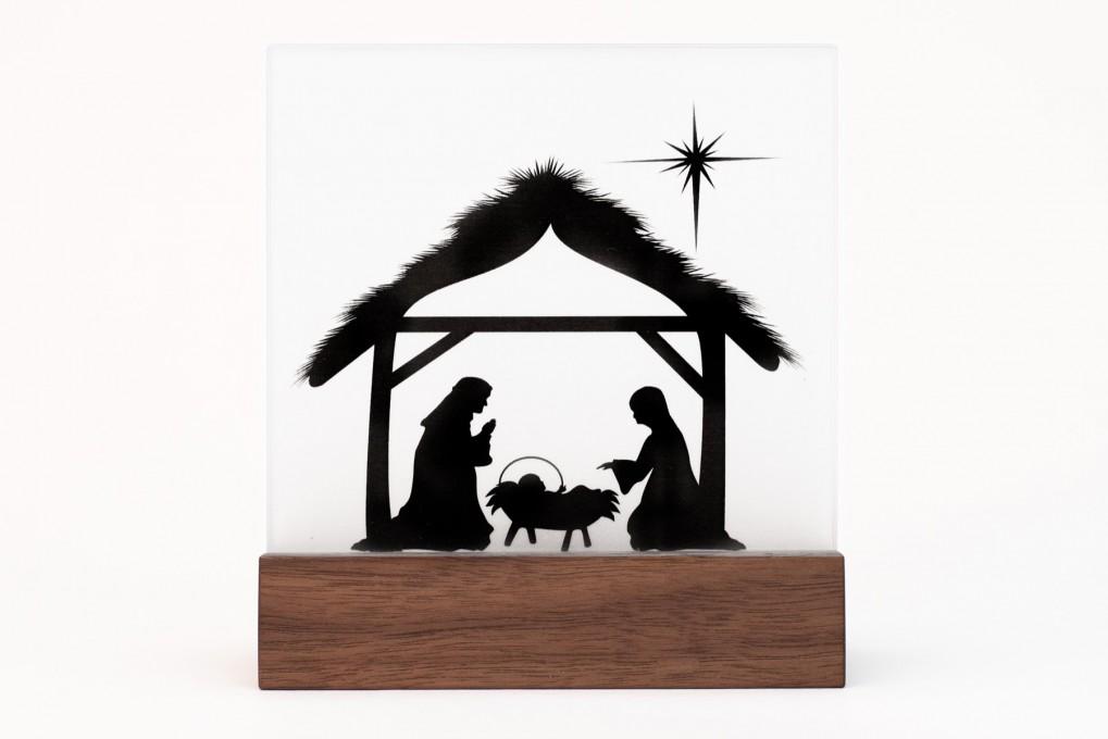 Krippe weihnachten klotzaufklotz exzellente holzprodukte for Scherenschnitt weihnachten