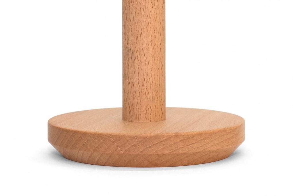 Kuechenpapierhalter aus Buche | klotzaufklotz - Exzellente Holzprodukte