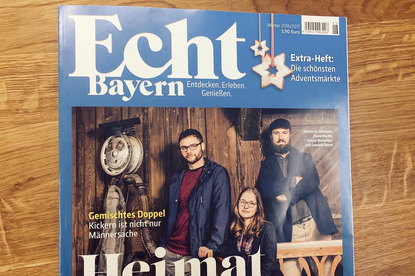 Unser Adventskalender mit Korken im Magazin Echt Bayern