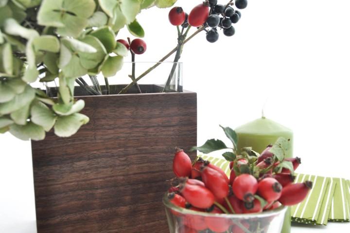 Deko-, Blumen- und Designvase