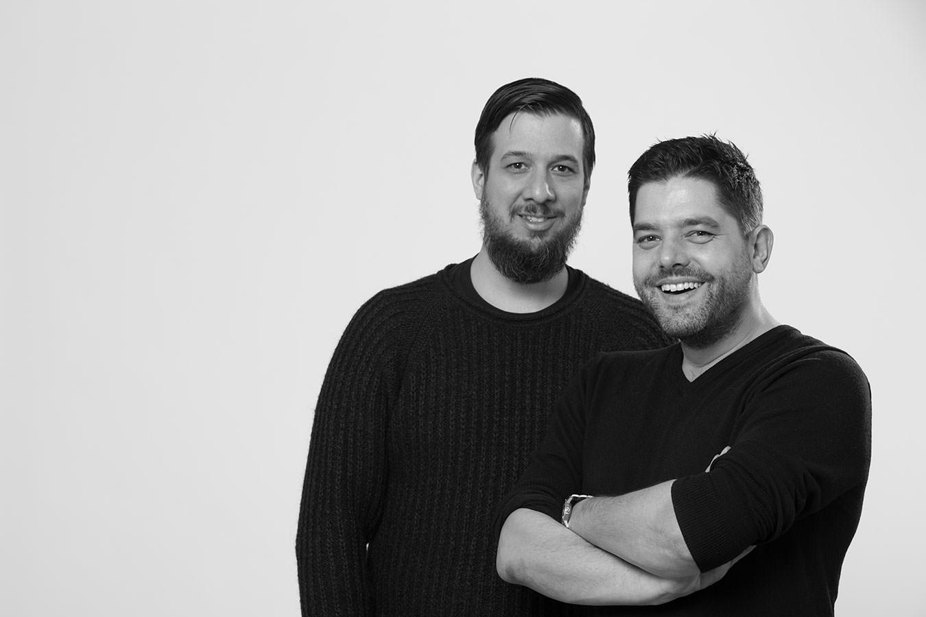 Makers: Marcus und Tom mit Vatter