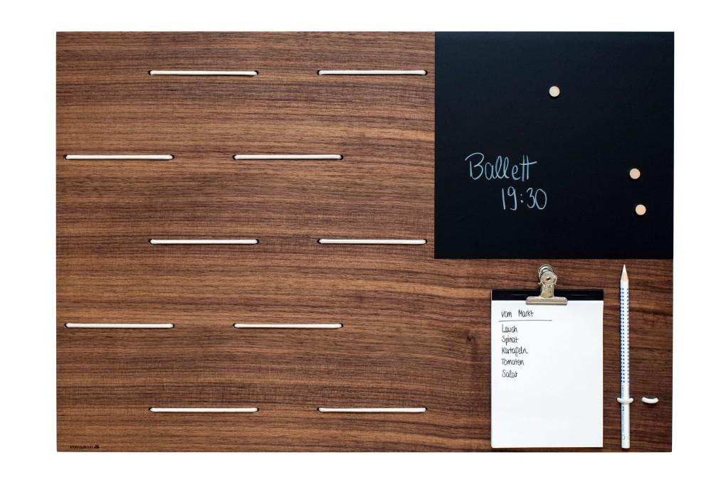 memoboard aus holz klotzaufklotz exzellente holzprodukte. Black Bedroom Furniture Sets. Home Design Ideas