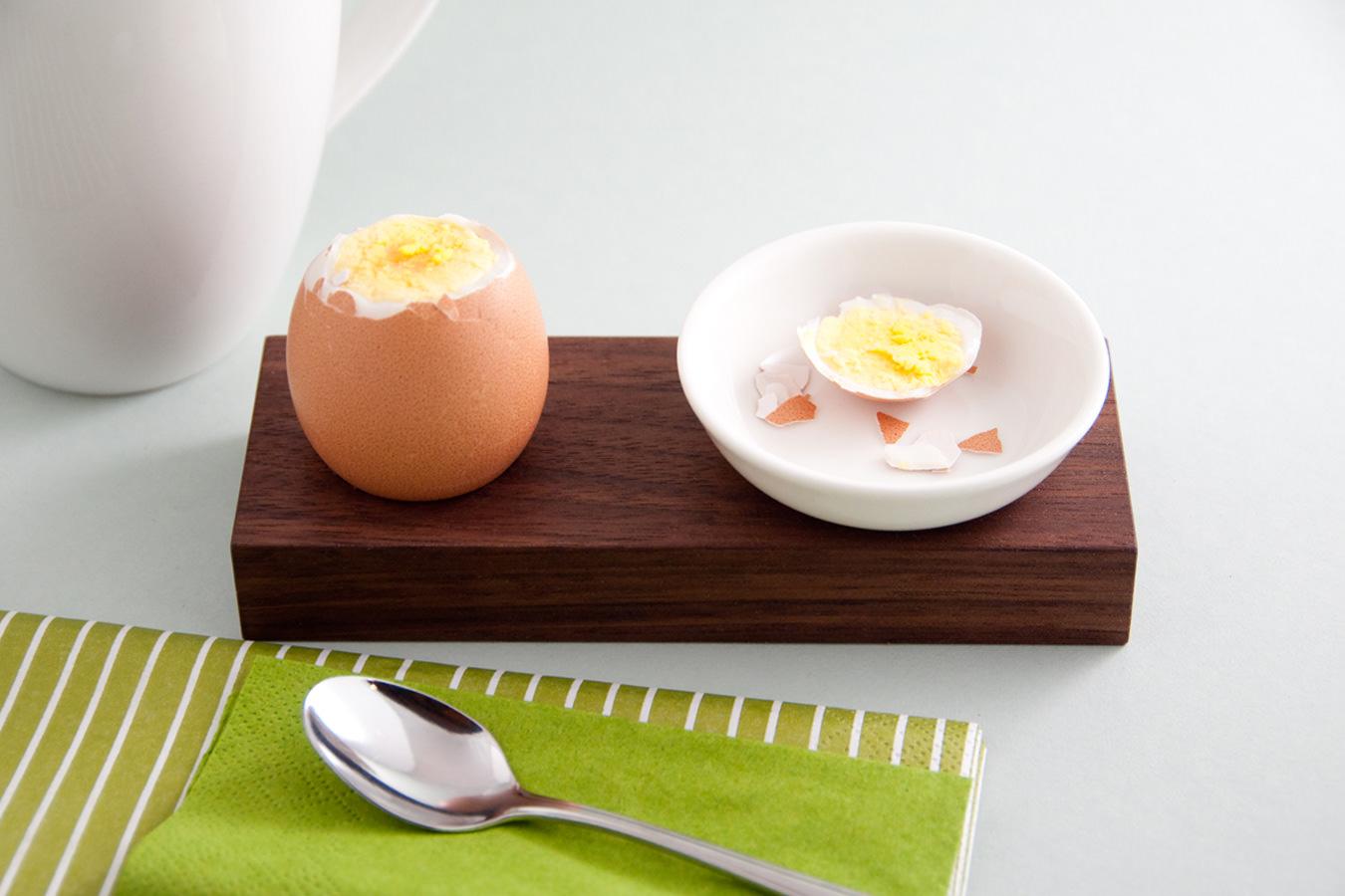 Messerleiste und Eierbecher