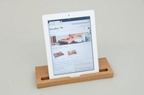 Tablet-Ständer Eiche natur (kompatibel zu iPad)